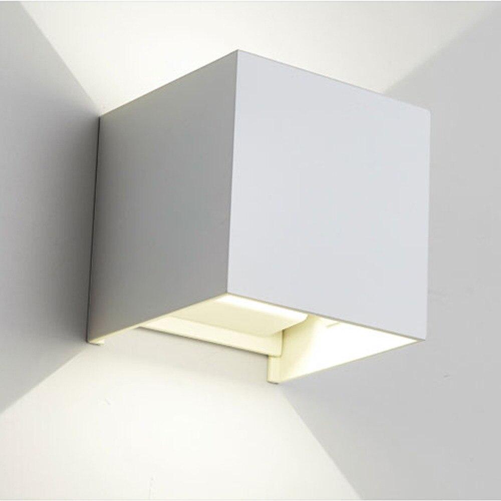 Moderne outdoor waterdichte aluminium verstelbare opbouw wandlamp gang lustre eetkamer armaturen led blaker licht
