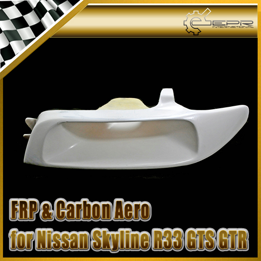 Car-styling For Nissan Skyline R32 GTR GTS FRP Fiber Glass Vented Headlight Replacement (LHS) mb barbell mbevkl