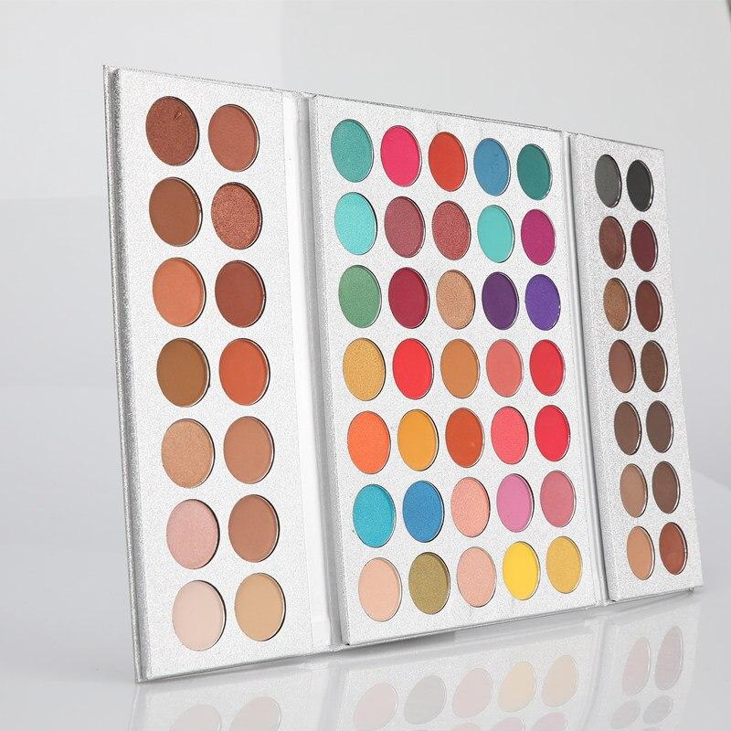 BEAUTY GLAZED Natural Matte Shimmer Eyeshadow Palette Luminous Long lasting Matte Eyeshadow Pallete Shimmer 35 Colors In1 HOT in Eye Shadow from Beauty Health