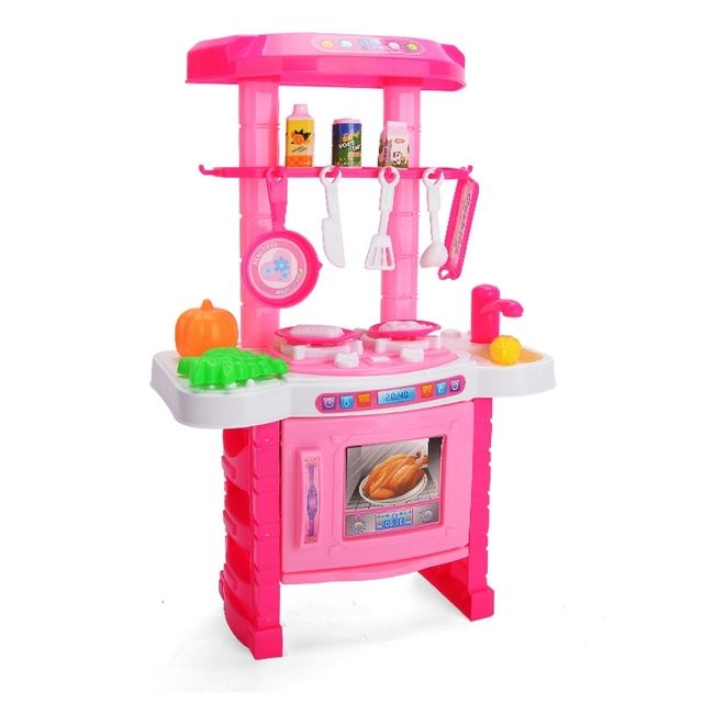 Yuanlebao childrens kitchen toys dining table for children baby yuanlebao childrens kitchen toys dining table for children baby kids play pretend game food toy kitchen workwithnaturefo