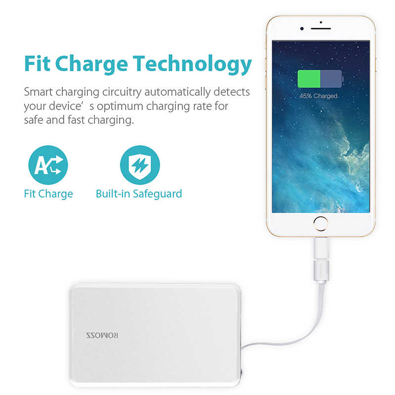 Romoss QS05 Power Bank 5000Mah Draagbare Oplader Externe Mobiele Batterij Snelle Powerbank Voor Xiaomi Samsung Huawei