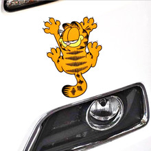 Aliauto Car-styling Funny Garfield Paw Sticker Vinyl Decal for BMW X1 X3 X5 1series 3series 5series 7series ///M Series Nissan(China)
