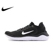 Оригинальный Nike Оригинальные кроссовки FREE RN Для мужчин, кроссовки для бега, легкие; Удобная нескользящая обувь; дышащая Спортивная обувь Сп