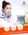 JinKaiRui Household Cervical Collar Neck Brace Air Traction Therapy Device Traction Support Massager Relax Pain Relief Tool