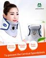 Jinkairui cuello cuello ortopédico aire tracción cervical hogar dispositivo de terapia de tracción apoyo pain relief massager relax herramienta