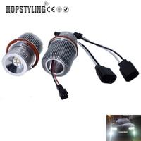 Hopstyling 2x20W LED Marker Angel eyes for BMW E39 E87 E60 E61 E63 E65 E53 E83 X3 Car headlight auto accessory