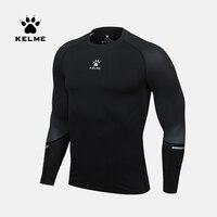 KELME New Male Running T shirt Tights Long Sleeve Tops&Tees Men Compression Shirt Fitness Quick Drying t shirt clothing 3871102