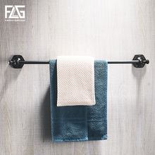 FLG Towel Bars Brass Wall mounted Single Towel Bar Holder Luxury Towel Rack Wall Bathroom Accessories Towel Hanger Rails free shipping copper towel racks double towel bar wall hanger bathroom accessories towel rails chrome cobbe t79282 60 70 80