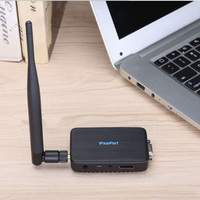 WiFi Wireless Screen Dongles VGA+HDMI HD Transmitter Push Treasure Airplay Projection 2.4G+5G dual frequency Dongles 2GB Memory