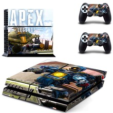 APEX Legends PS4 Skin Sticker Decal for Sony PlayStation 4 Console and 2 Controller Skin PS4 Sticker Vinyl