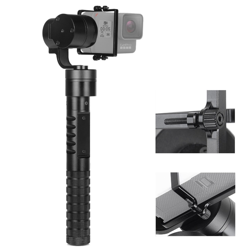 3-Axis Motorized Handheld Gimbal, Kamisafe AFI A5 Brushless Gimbal Stabilizer Camera Steady Mount for Gopro Hero 5 4 3+ 3, SJCAM bestablecam h4 rtf brushless handheld encoder mirrorless digital camera gimbal gyro stabilizer for gh3 gh4 a7s nex5 bmpcc