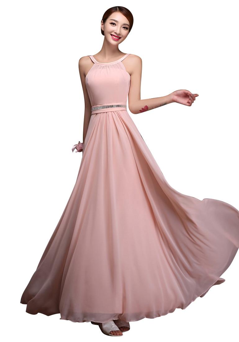 Magnífico Sonrojándose Vestidos De Dama De Rosa Festooning - Ideas ...