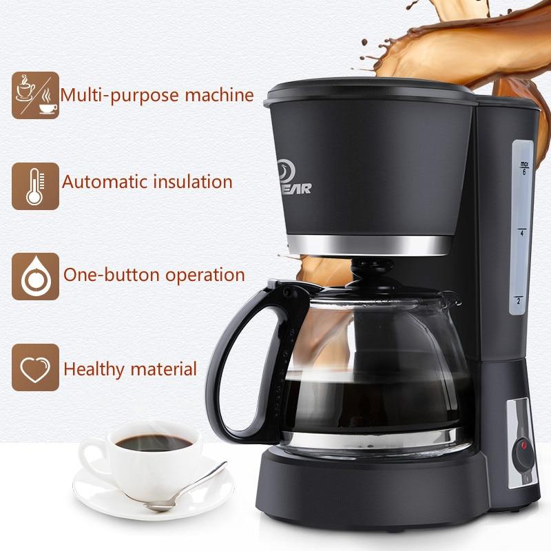 где купить Electric Drip Coffee Maker Pot Household Automatic Drip Espresso Latte Stovetop Filter Coffee Pots 600ml Cooking Teapot по лучшей цене