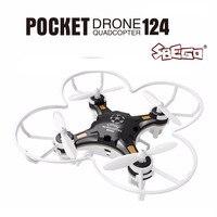 FQ777 124 Mini Quadcopter Micro Pocket Drone 4CH 6Axis Gyro Switchable Controller Mini Quadcopter RTF RC