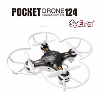 FQ777 124 Mini Quadcopter Micro Pocket Drone 4CH 6Axis Gyro Switchable Controller Mini Quadcopter RTF RC