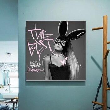 Cartel de Ariana Grande, el mejor álbum de música, lienzo, cuadros de...