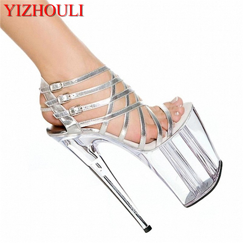 Fine with waterproof Taiwan 20 cm super high heels to wrap with sandals, sexy nightclub transparent crystal shoe new original lcd touch screen digitizer with frame for 2013 asus google nexus7 fhd 2nd gen k008 me571 lte 3g free shipping