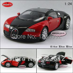New Car Toy For Children 1 24 Scale Bugatti Veyron Sports Car Super