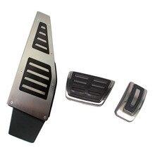 3 шт. RHD ножная педаль для ног Мертвого Педаль Для VW Golf 7 Mk7 VII GTI R A3 8 V 2013 с правосторонним управлением