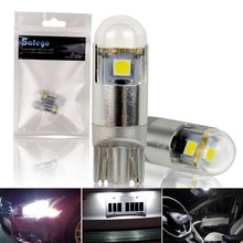 2pcs Super Bright T10 3030 3SMD Canbus Car Styling W5W Lights LED12V Auto Lamps Upgraded Plug And Play Clearance Bulbs