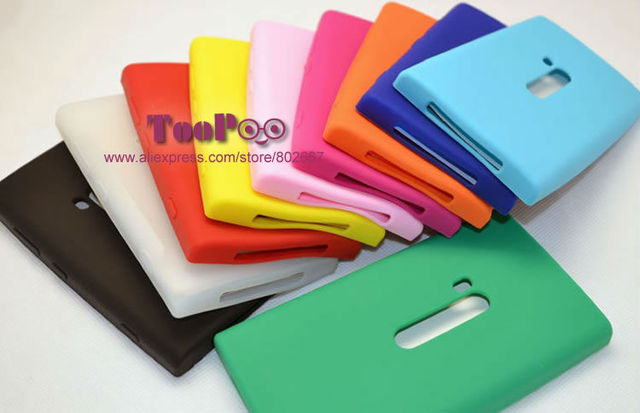 Gift Screen Protector !!! Multicolor Silicon Soft Case Cover For Nokia Lumia 920 N920