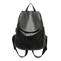 Women Soft Genuine Leather Backpack Vintage Backpacks For Teenage Girls School Bags High Quality Mochila Feminina
