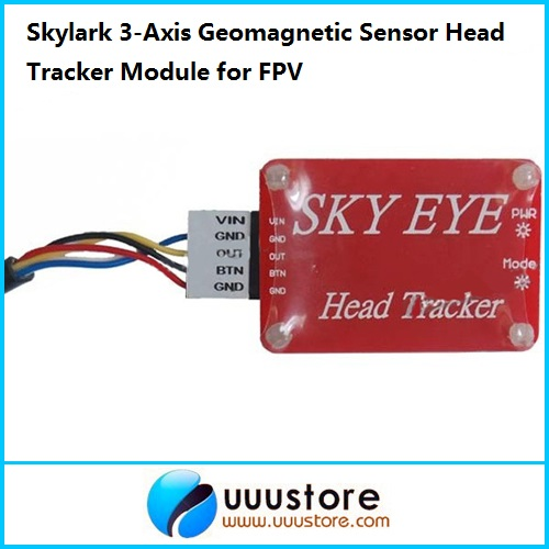 Skylark 3-Axis Geomagnetic Sensor Head Tracker Module for FPV