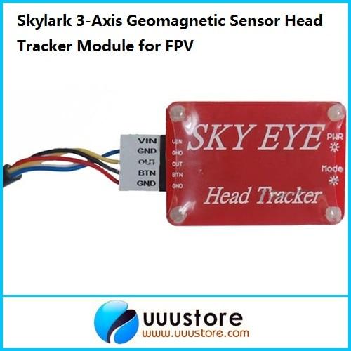 Skylark 3-Axis Geomagnetic Sensor Head Tracker Module for FPV skylark aat auto antanna tracker iv w compass bluetooth for fpv latest version