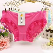Modal Ladies Underwear Woman Panties Fancy Lace Sexy Panties for Women Traceless Crotch of Cotton Briefs Hot Sale drop shipping modal ladies underwear woman panties fancy lace sexy panties for women traceless crotch of cotton briefs hot sale