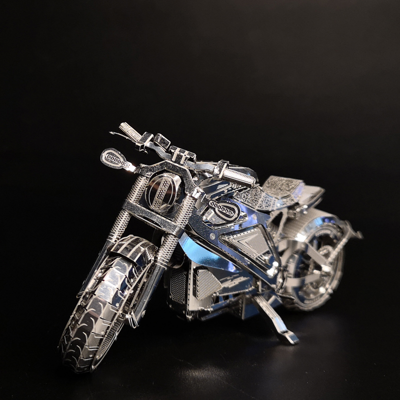 NANYUAN I22203 AVENGER MOTORCYCLE Collection Level Puzzle 3D Metal Assembly Model 1:16 2 Sheets Souptoys Creative gifts hk nanyuan 1 3 sheets st petersburg cathedral