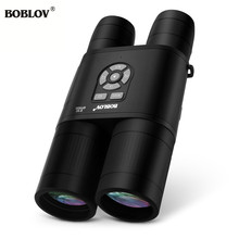 BOBLOV B8X 8x52mm Day Night Vision Binoculars HD Telescope Spotting Scope with Recording Function For Camping Hunting Outdoor