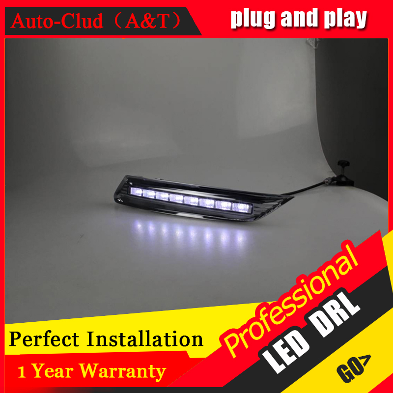 Auto Clud car styling For Honda CrosstourLED DRL For Crosstour led daytime running light High brightness guide LED DRL