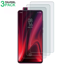 3Pcs Tempered Glass For Xiaomi Mi 9T Screen Protector 2.5D 9H Protective Film For Xiaomi Mi 9T Mi9T Pro On Glass