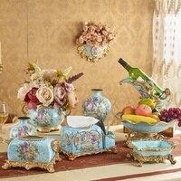 style living room furnishings decoration vase desktop wine rack Home Furnishing decorative fruit dish wedding gift