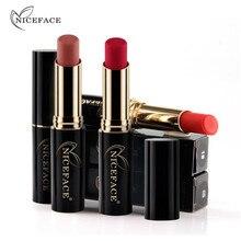 Lingerie Matte Liquid Lipstick Waterproof Lip Gloss Makeup 24 Shades Make up Matte Metal Lipsticks For Women