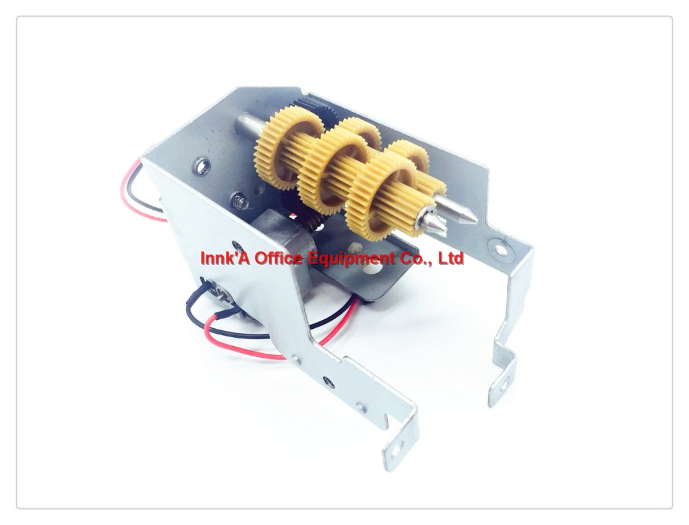 Fuser Cleaning Web Motor Unit for Ricoh Aficio 1075 2075 MP1075 6001 MP7001 2075 8000 7500 8001, Cleaning web motor assembly