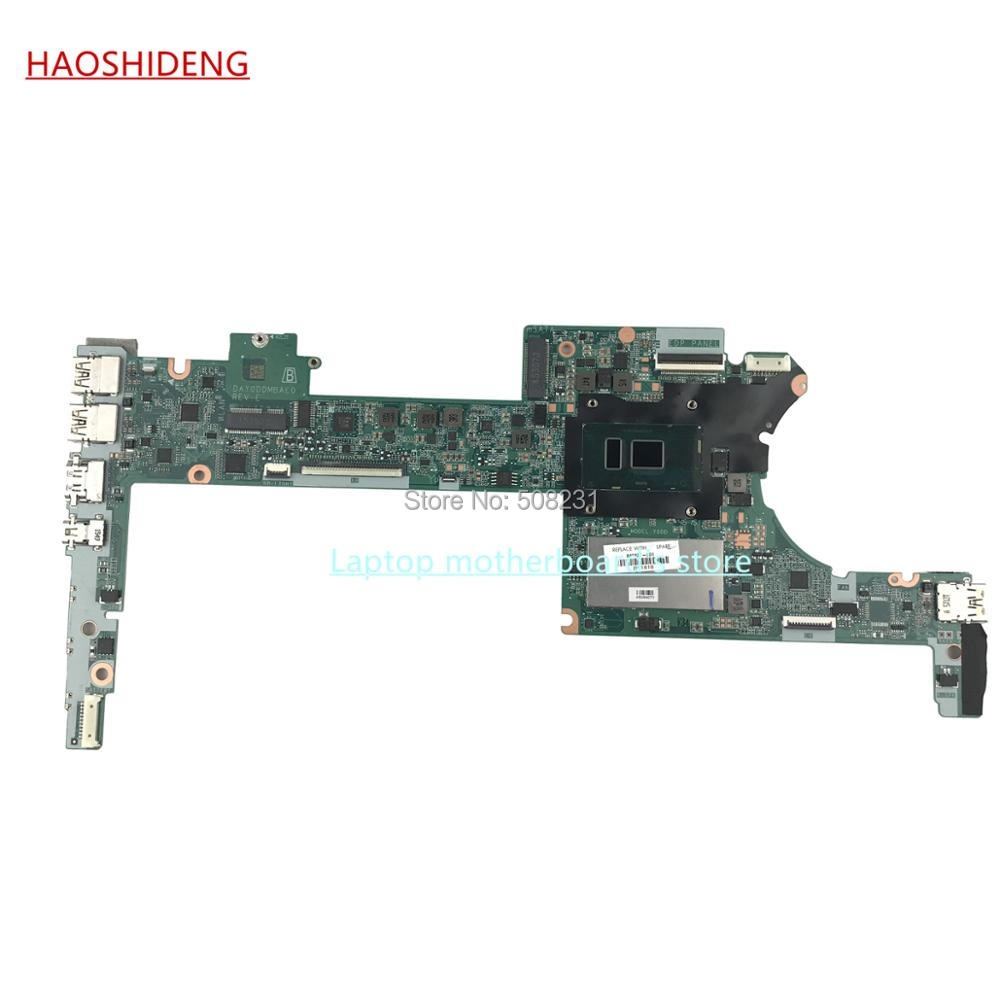 HAOSHIDENG 849427-601 DAY0DDMBAE0 mainboard for HP Spectre X360 13-4000 13-4125nr Motherboard with i5-6200U 4GB, fully Tested