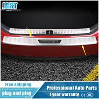 2018 Car Styling For Toyota Camry Stainless Steel External Rear Guard Plate For Camry Outer Rear