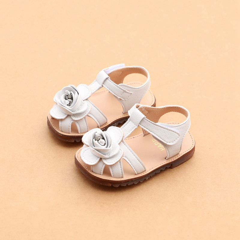 Toddler 4 Years Old Shoe Size 2019 Summer Flower Baby Girls Sandals 1 2 Years Old Infant