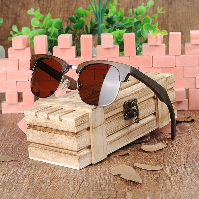 Half-rimmed glasses BOBO BIRD sunglasses women (8)