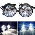 Estilo do carro levou luzes de nevoeiro para mitsubishi pajero iv v8_w v9_w fechado off-road vehicle 2007-2012 nevoeiro lâmpadas de 10 w drl 1 conjunto