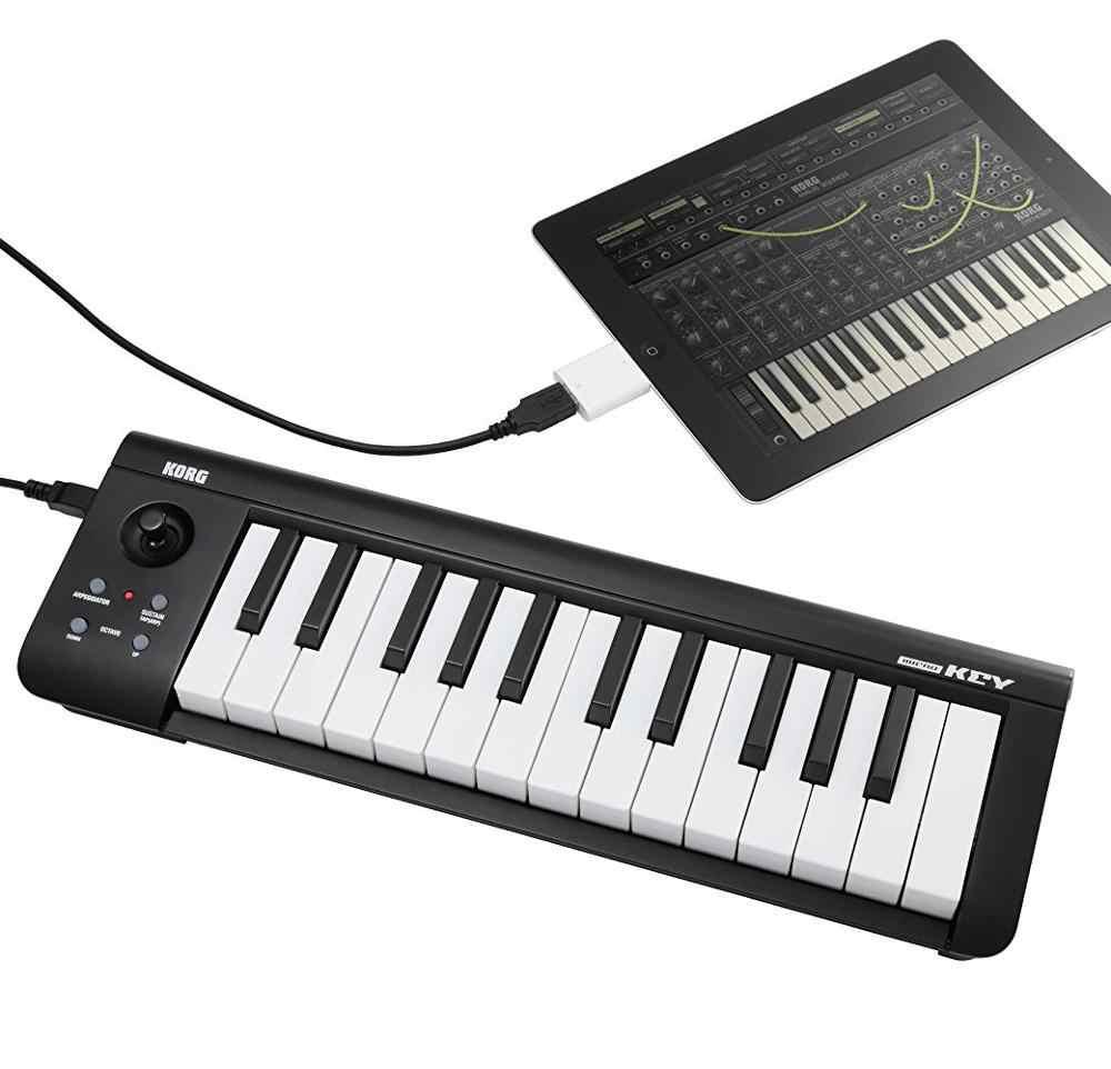 Korg microKEY25 USB MIDI Keyboard Controller Synthesizer Cable Drum  Electric Digital Piano Organ Musical instrument iPad mac pc