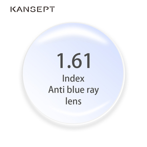 Image 1 - 1.61 Index Anti Blue Ray Prescription Lenses Aspherical Computer Professional Lens Anti Radiation Optical Myopia Hyperopia Lens