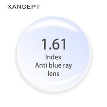 1.61 endeksi Anti Blue Ray reçete lensler asferik bilgisayar profesyonel Lens Anti radyasyon optik miyopi hipermetrop Lens