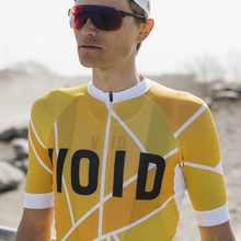VOID New Mesh Fabric Ropa Ciclismo Hombre Yellow Geen color cycling jersey  men Summer bike riding 21d81fc91