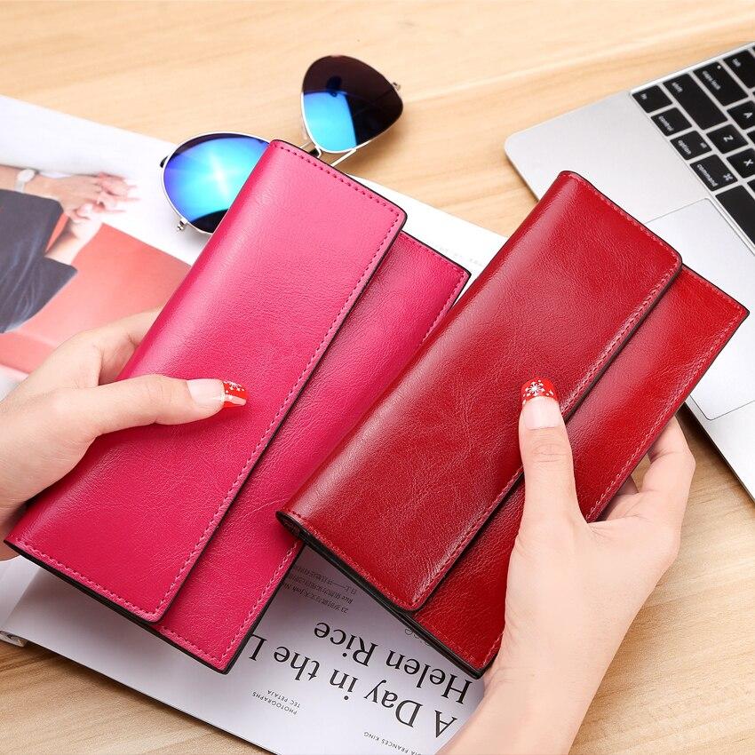 mulheres carteira de longo bolsa Bag Estilo1 : Fashion Standard Women Wallet