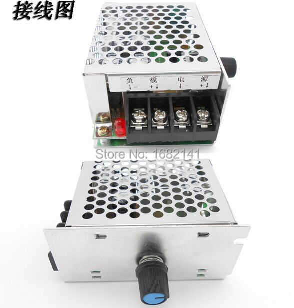 Motors & Parts Forceful Dc 9v To 60v 20a Dc Motor Controller Stepless Speed Voltage Regulation Pwm Dc Motor Speed Controller 12v 24v 36v 48v 60v 600w