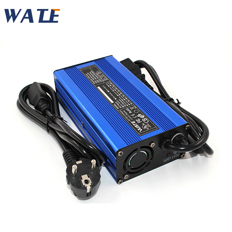 54 6V 3A Charger 13S 48V li ion battery Charger Output DC 54 6V With cooling