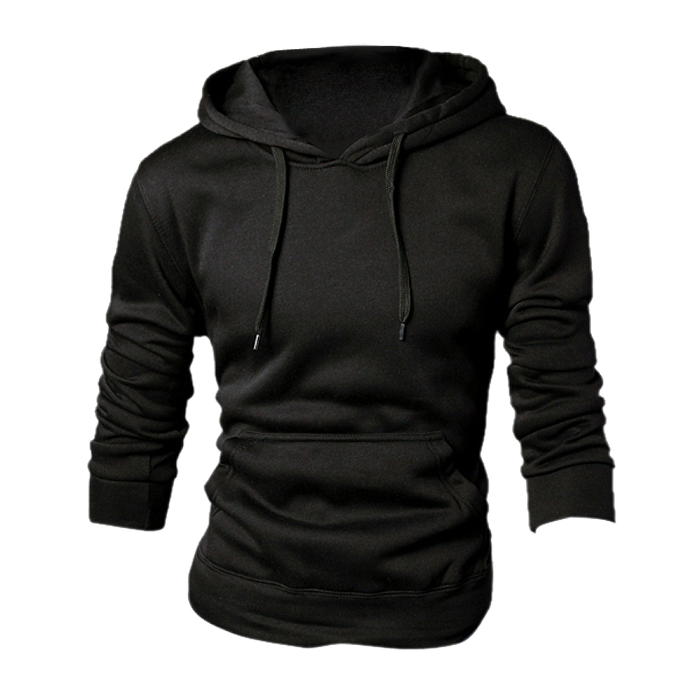 MAKE Hot New spring autumn fashion Casual Hoddies Sweatshirts High Quality Men sportswear solid Fleece hoody