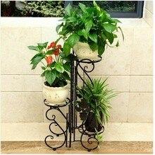 Европейский цветок эффектный мульти-Пол балкон цветок оптовые цветочные горшки, кованого железа старинные дешевые